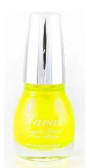 Laval Crystal Finish Nail Polish No05 Ultra Yellow