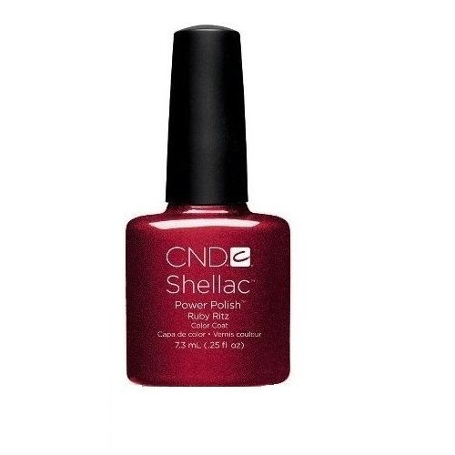 CND SHELLAC POLISH RUBY RITZ x 1